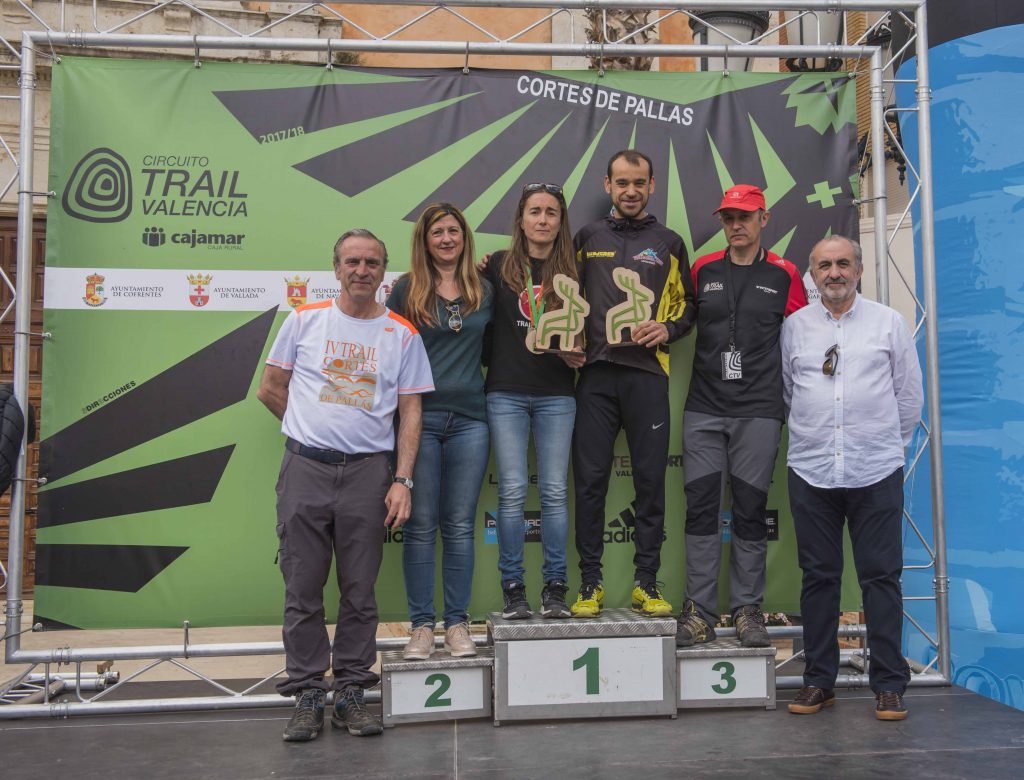 Ganadores trail de Cortes de Pallás